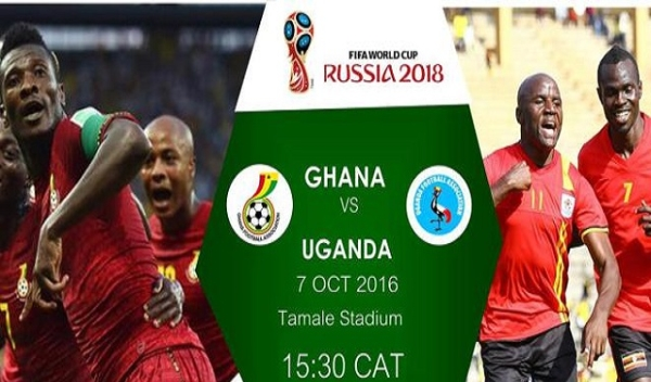 Ghana vs Uganda