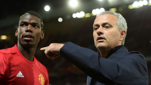 Jose Mourinho Paul Pogba