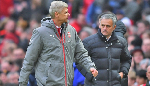 Jose-Mourinho-Arsene-Wenger