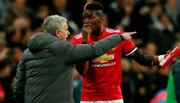 Pogba-Jose Mourinho