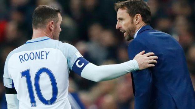 Gareth Southgate Wayne Rooney