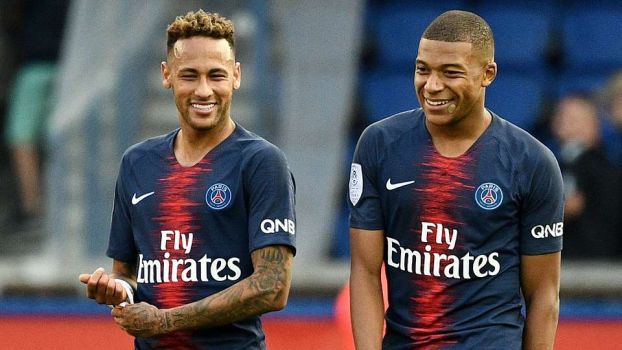 Kylian Mbappe, Neymar